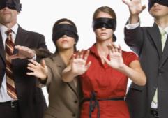 Blindfolded Leaders